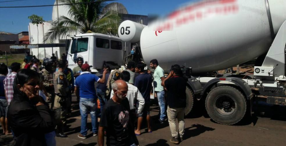 Acidente aconteceu no centro de Araguaína (Foto: Divulgação)