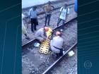 Homem é atropelado por trem no RJ