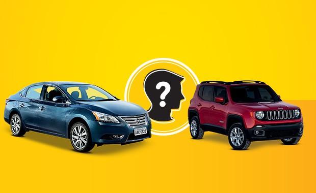Que carro eu compro? SUV ou sedã automático de até R$ 80 mil (Foto: Autoesporte)