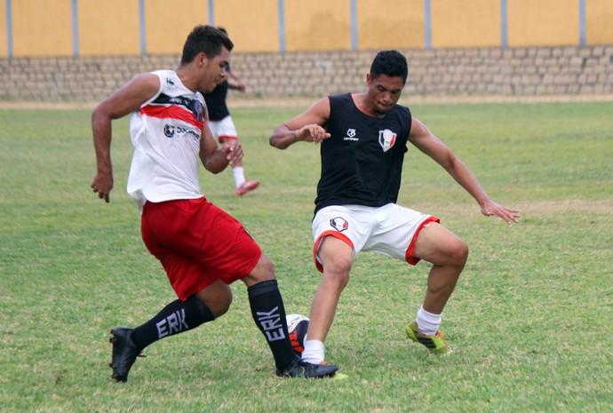 Santa Cruz de Natal jogo-treino Igor (Foto: Diego Simonetti/Santa Cruz)
