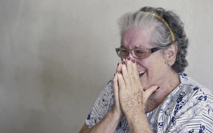 Dona Cida, ganhadora da promoção Decora em ação  (Foto: Evandro Mucha)