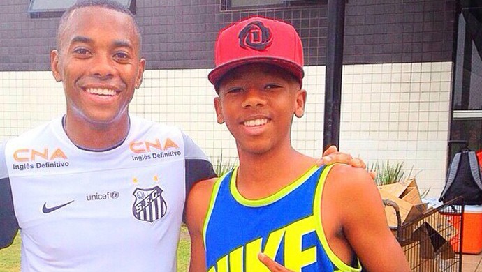 Nicolas Reis, Santos sub-17 (Foto: Reprodução / Facebook)