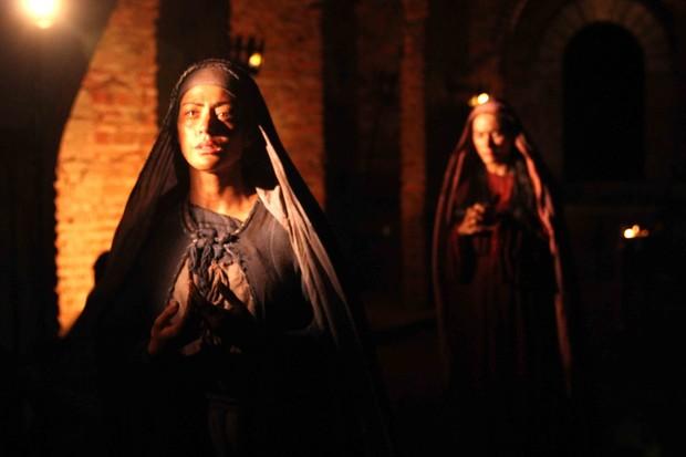 Carol Castro como Maria em Paixão de Cristo (Foto: Paixão de Cristo/ Divulgação)