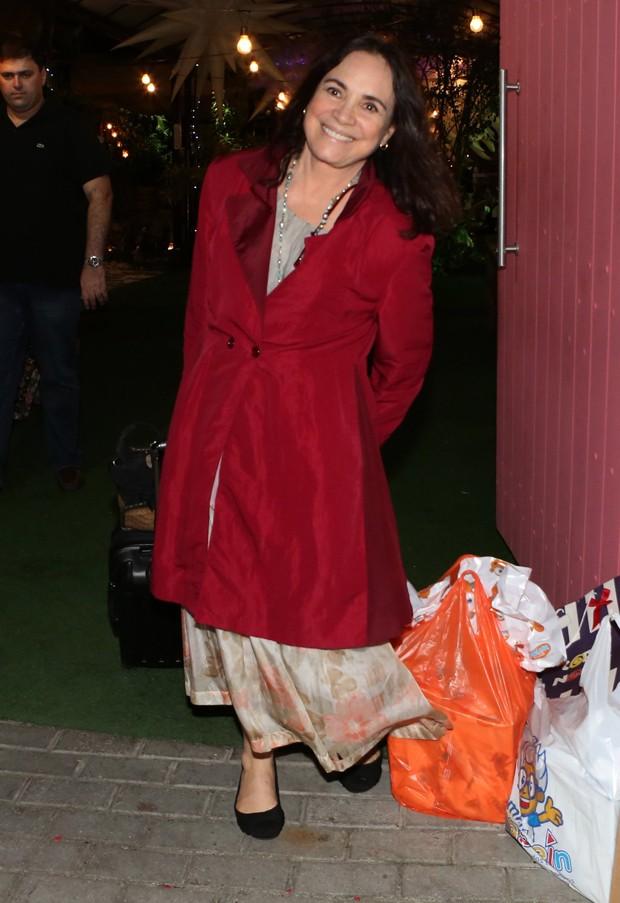 Regina Duarte (Foto: Dilson Silva/AgNews)
