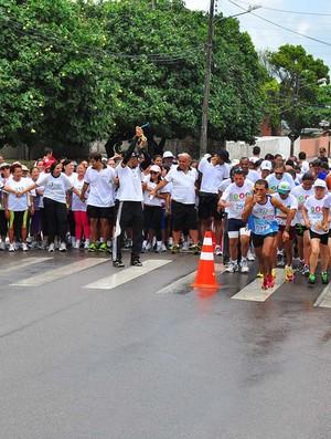 Corrida faz alusão a 'Novembro Azul' e conscientiza sobre saúde do homem (Foto: Divulgação / Secom-JP)