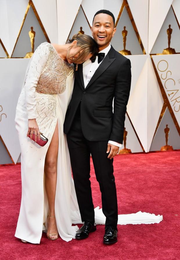A modelo Chrissy Teigen e o cantor John Legend (Foto: Getty Images)
