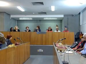 Audiência ocorreu nesta quinta-feira (15). (Foto: Pollyanna Maliniak/Divulgação)