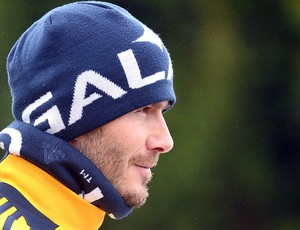 Beckham treino LA Galaxy (Foto: Getty Images)