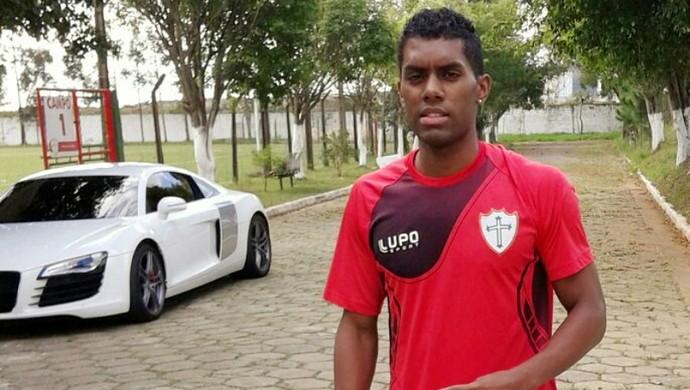 ABC - atacante John Lennon Marques estava na Portuguesa (Foto: Reprodução)