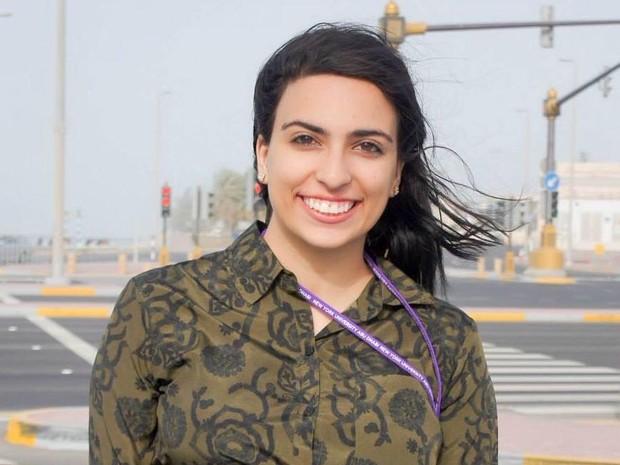Mariam Topeshashvili, de 18 anos, veio criança da Georgia para o Rio (Foto: Arquivo pessoal/Mariam Topeshashvili)