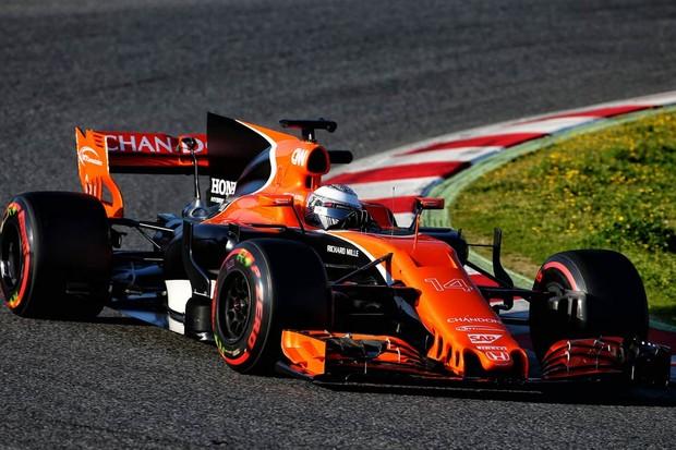 O laranja retornou ao layout da McLaren para a temporada 2017 (Foto: Divulgação)
