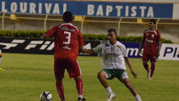 Sergipe vence o Guarany por 2 a 0 (Foto: João Áquila/GLOBOESPORTE.COM)