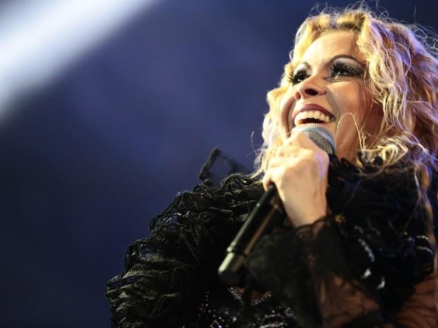 Joelma animou o público durante o show (Foto: Jonathan Lins/G1)