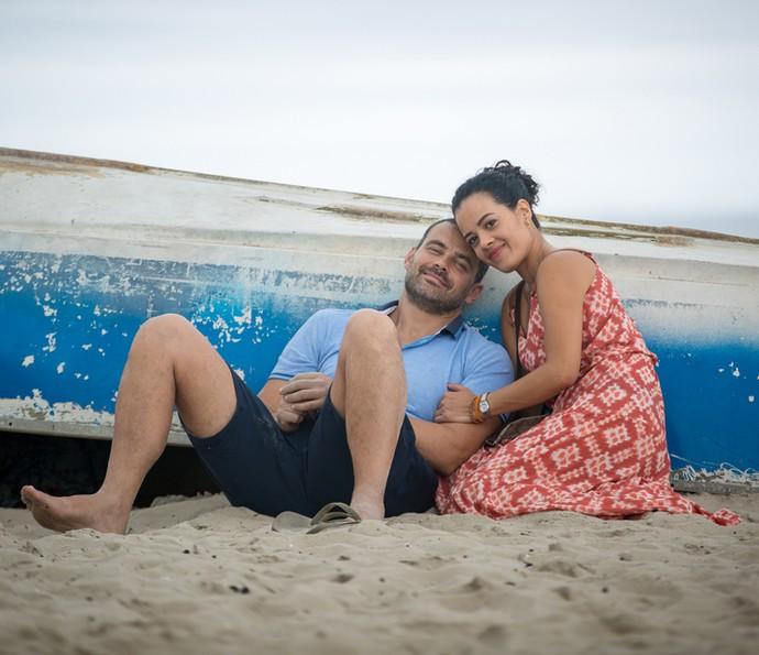 Maeve Jinkings diz estar feliz com as mudanças na vida de Domingas (Foto: Fabiano Battaglin/ Gshow)