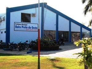 Prefeitura de Ouro Preto do Oeste (Foto: Assessoria/Divulgação)