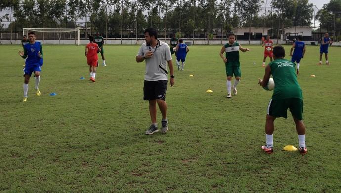 santos-ap; treinamento; amapá; futebol; copa verde; (Foto: Divulgação)