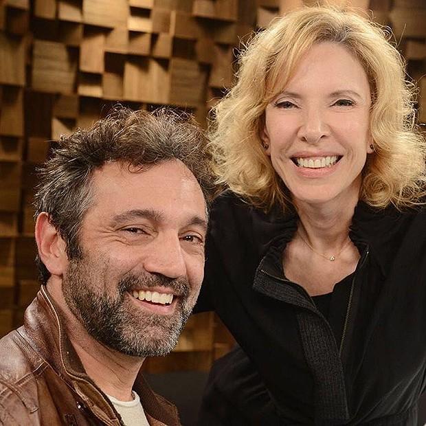 Domingos Montagner e Marília Gabriela (Foto: Instagram / Reprodução)