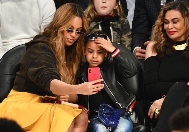Beyoncé e Blue Ivy (Foto: Getty Images)