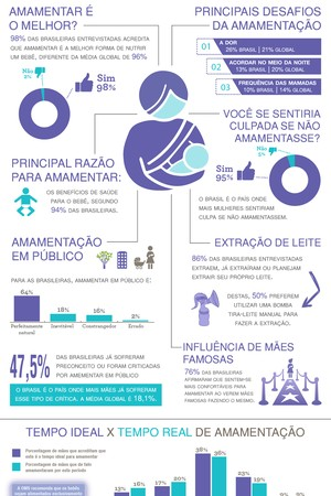 Pesquisa Global Lansinoh sobre Aleitamento Materno 2015_Brasil (Foto: Lansinoh Brasil)