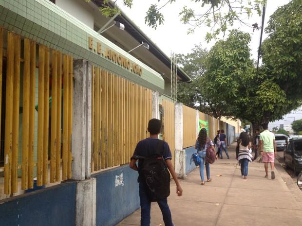 Escola, Amapá, Macapá, Antônio João, calendário escolar, (Foto: Fabiana Figueiredo/G1)