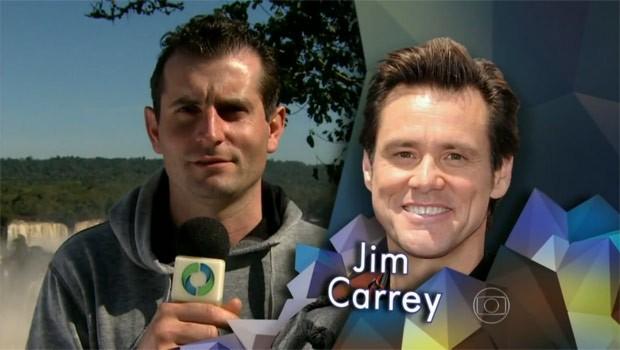 E aí, ele parece, ou não parece, com o Jim Carrey? (Foto: Reprodução)