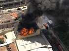 Incêndio atinge imóvel na Região Nordeste de Belo Horizonte