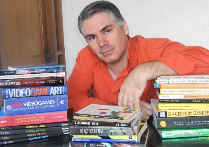 Kao Tokio, da publisher Gamestorming, foi fundamental para reunir as ideias de Horacio Corral e Caio Chagas (Foto: Arquivo Pessoal)