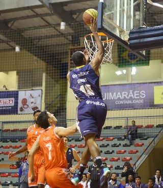 Liga Sorocabana x Mogi das Cruzes Campeonato Paulista de basquete (Foto: Antonio Penedo/Mogi-Helbor)