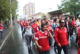 Caminho do Gol tem movimento menor e clima tranquilo no Beira-Rio