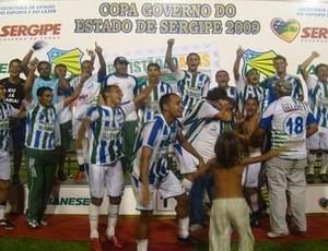Primeiro título em 2009 (Foto: Divulgação)