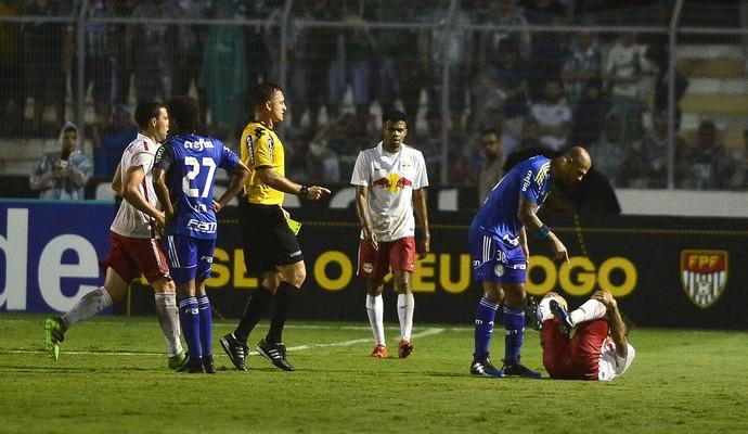 Felipe Melo Palmeiras (Foto: Marcos Ribolli)
