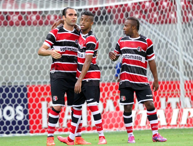 Santa Cruz x Boa Esporte (Foto: Marlon Costa /Futura Press / Agência Estado)
