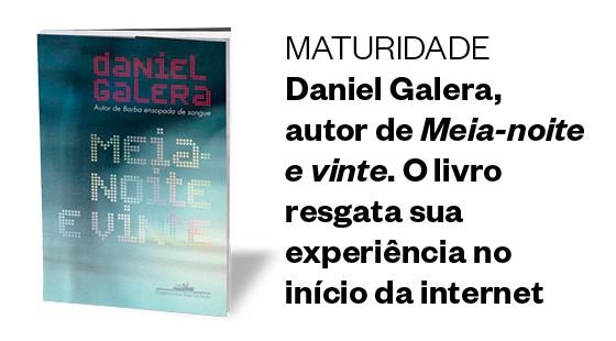 MATURIDADE Daniel Galera, autor de Meia-noite e vinte. O livro resgata sua experiência no início da internet (Foto: Divulgação)