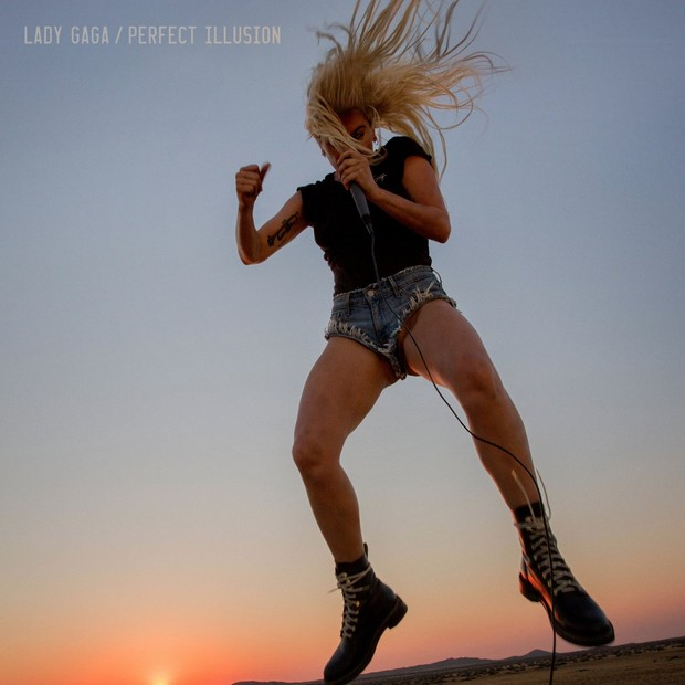 Capa do single Perfect Illusion de Lady Gaga (Foto: Reprodução/Twitter)