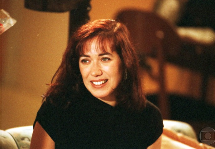 O primeiro papel de destaque da atriz foi Sheila, de 'História de Amor' (Foto: Cedoc/TV Globo))