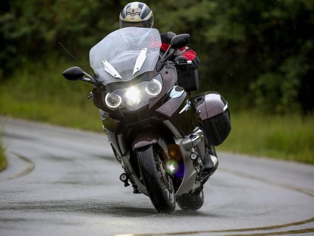 BMW K 1600 GTL (Foto: Raul Zito/G1)