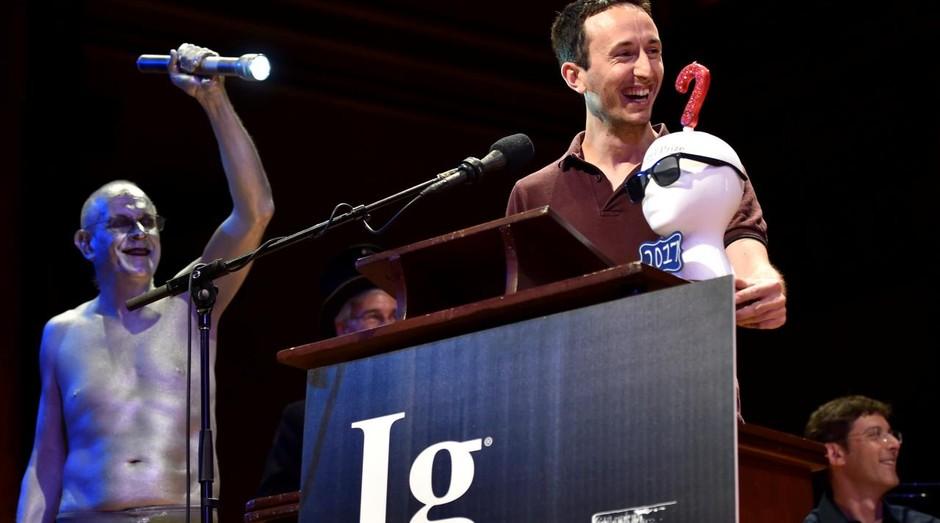 Vencedor do Ig Nobel deste ano. Premiação celebra as descobertas científicas mais estranhas do ano (Foto: Divulgação)