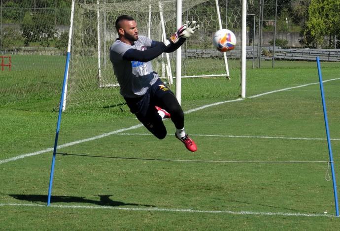 Goleiro Weverton do Atlético-PR (Foto: Fernando Freire)