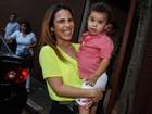 Wanessa leva José Marcus ao aniversário de filha do Fenômeno