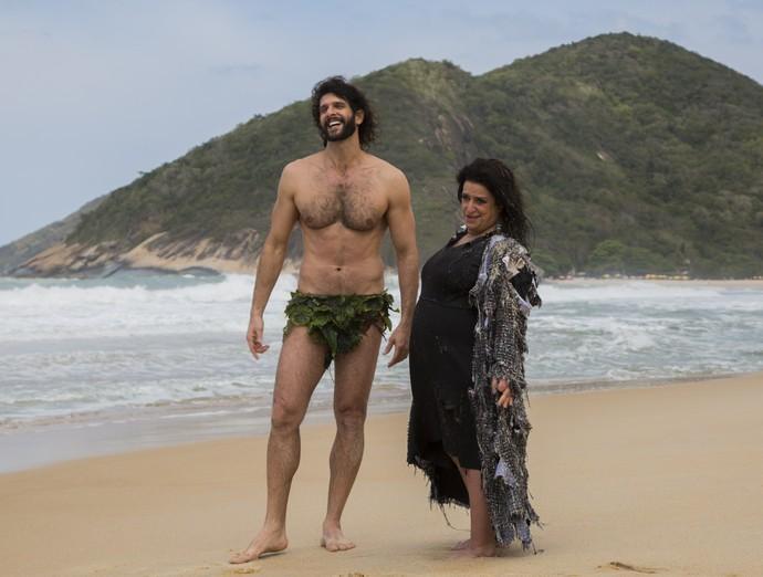 Guilherme Chelucci é pescador sexy na trama (Foto: Renan Castelo Branco/Gshow)