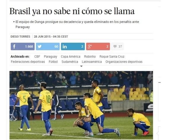 El País comenta sobre o Brasil