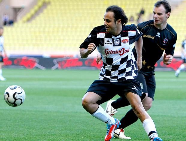 Felipe Massa jogo de futebol caridade (Foto: AP)