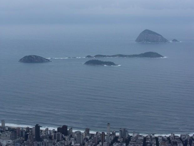 Previsão do tempo segunda-feira (14) Rio de Janeiro Estrella (Foto: Marcos Teixeira Estrella/TV Globo)