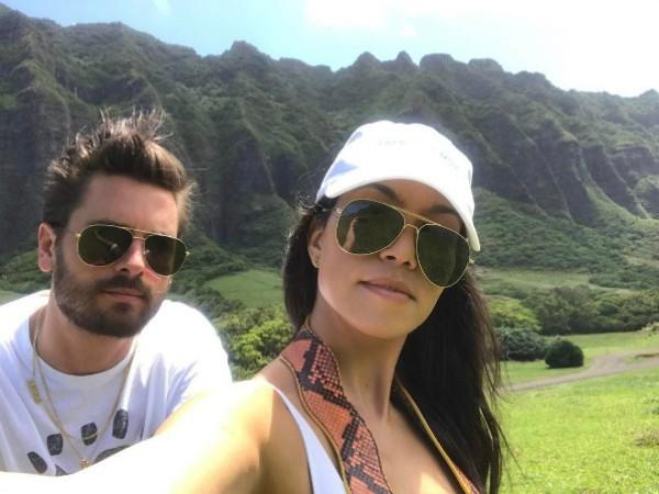 Kourtney Kardashian e Scott Disick (Foto: Reprodução Instagram)