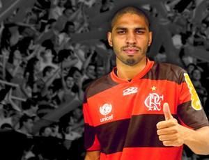 Zagueiro Wallace, Flamengo (Foto: Divulgação / Site oficial do Flamengo)