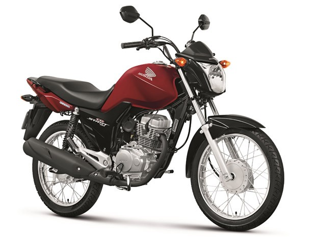 Honda CG 150 Start (Foto: Divulgação)