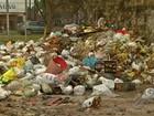 Um dia após retomada de coleta, lixo ainda se acumula em ruas de Belém