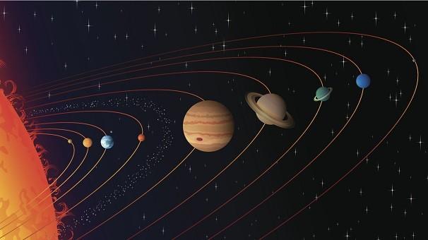 Mercúrio, Vênus, Marte, Júpiter e Saturno são visíveis a olho nu (Foto: Thinkstock/ Getty Images)