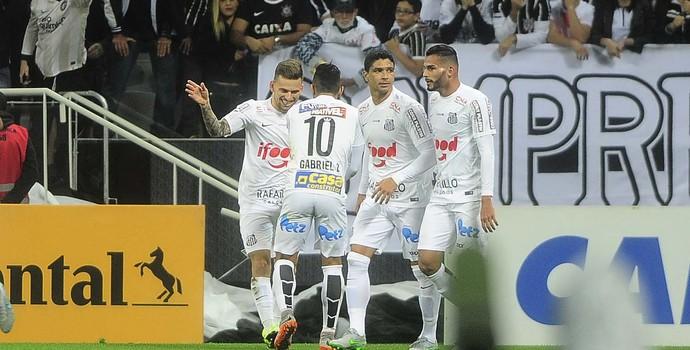 Corinthians x Santos (Foto: Marcos Ribolli)