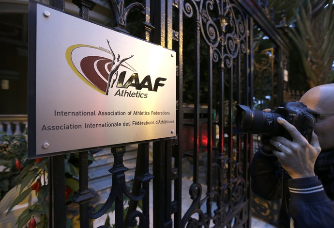 Sede da IAAF em Mônaco (Foto: AP Photo/Lionel Cironneau)
